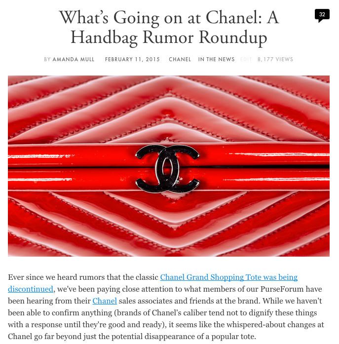 Chanel-Handbag-Rumors