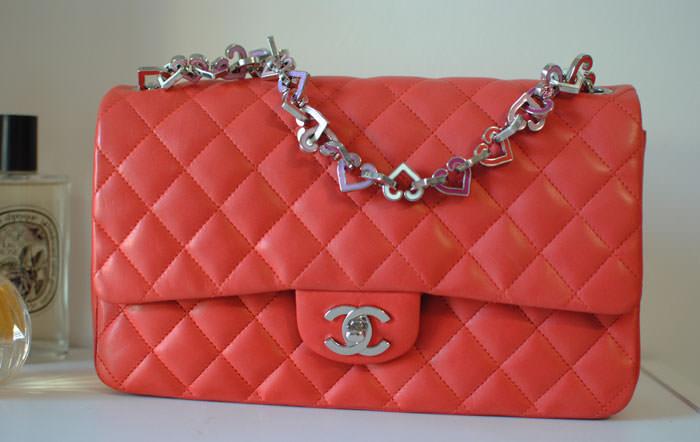 Chanel-Heart-Chain-Flap-Bag