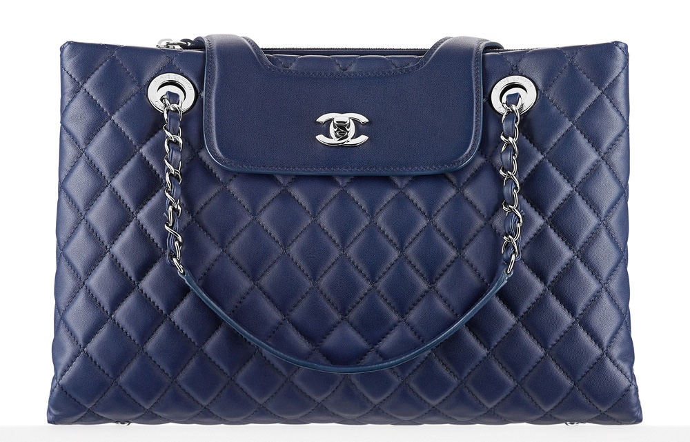 Chanel-Lambskin-Shopping-Tote