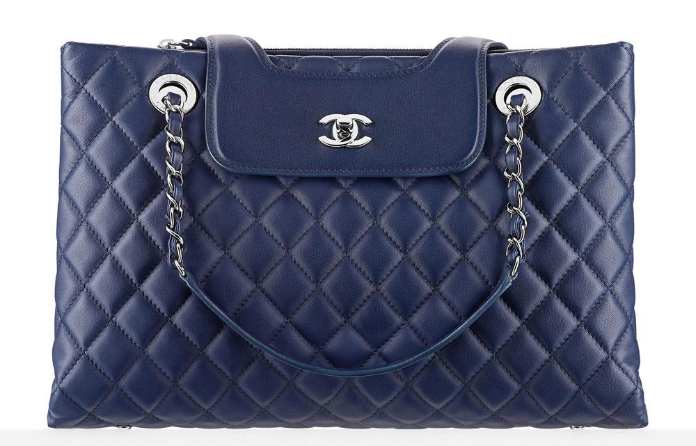 Chanel-Lambskin-Shopping-Tote