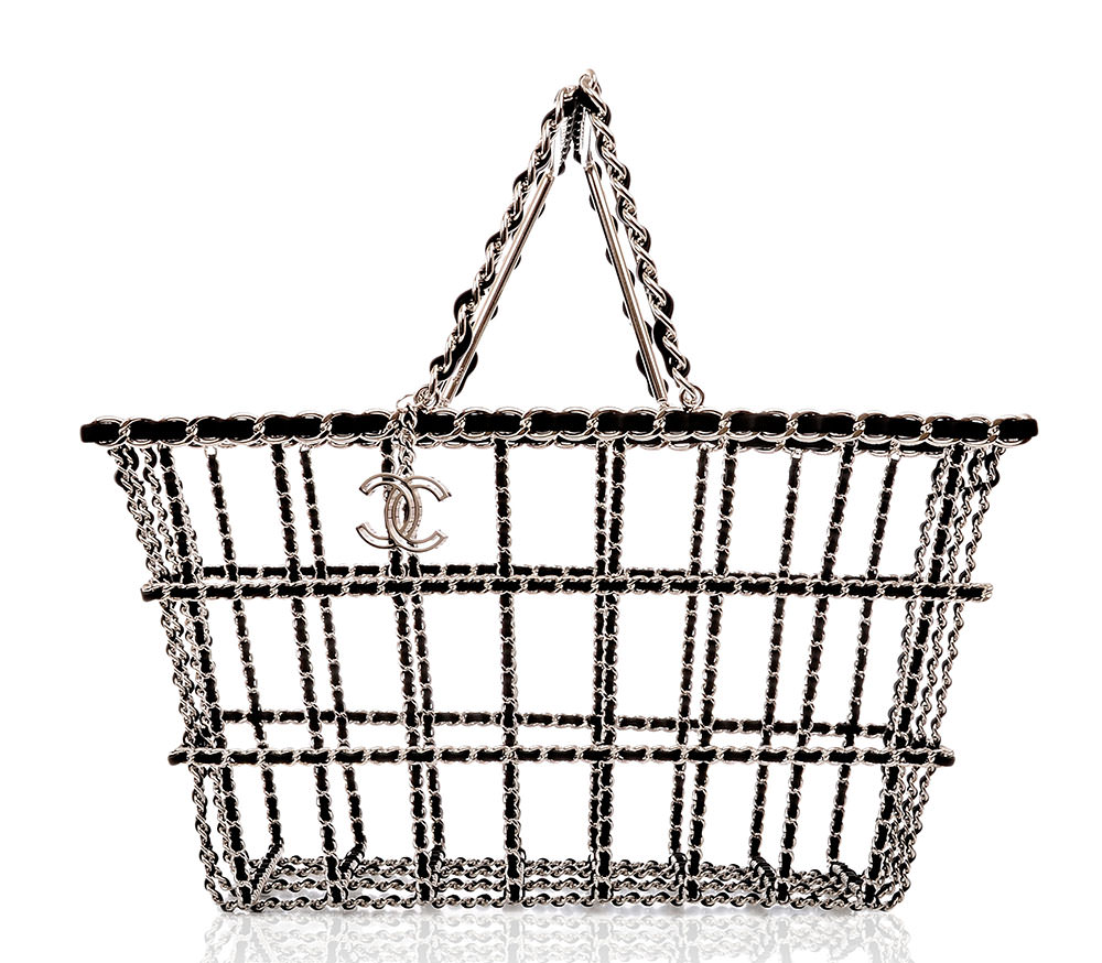 Chanel-Leather-and-Chain-Supermarket-Basket