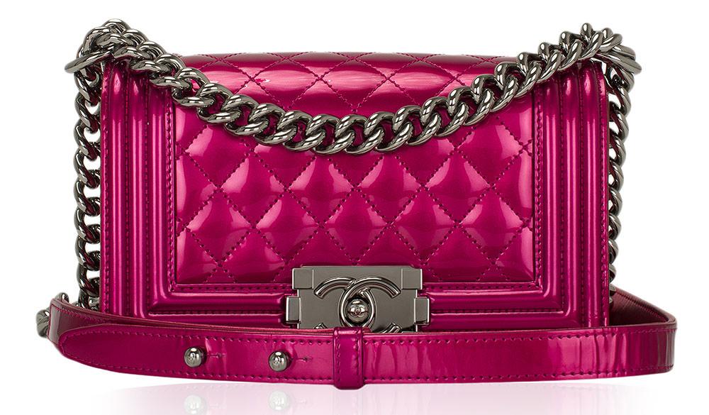 Chanel-Patent-Boy-Bag