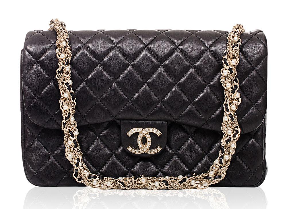 Chanel-Pearl-Embellished-Flap-Bag