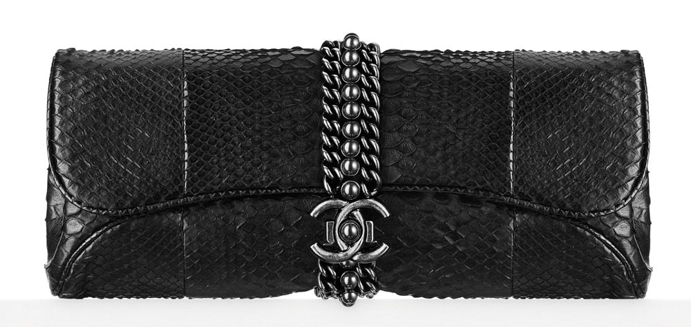 Chanel-Python-Evening-Clutch