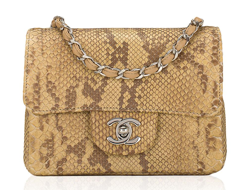 Chanel-Python-Flap-Bag