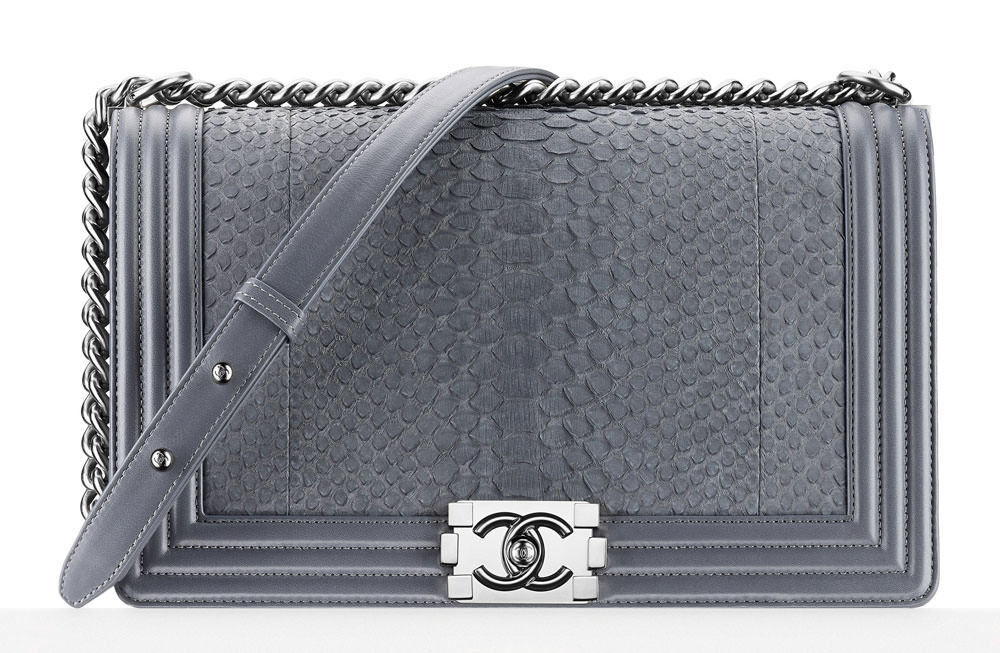 Chanel-Python-Large-Boy-Bag