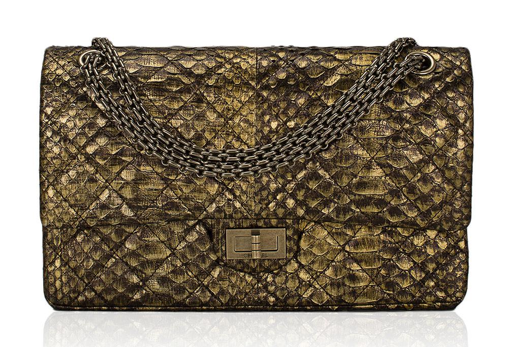 Chanel-Python-Reissue-Flap-Bag