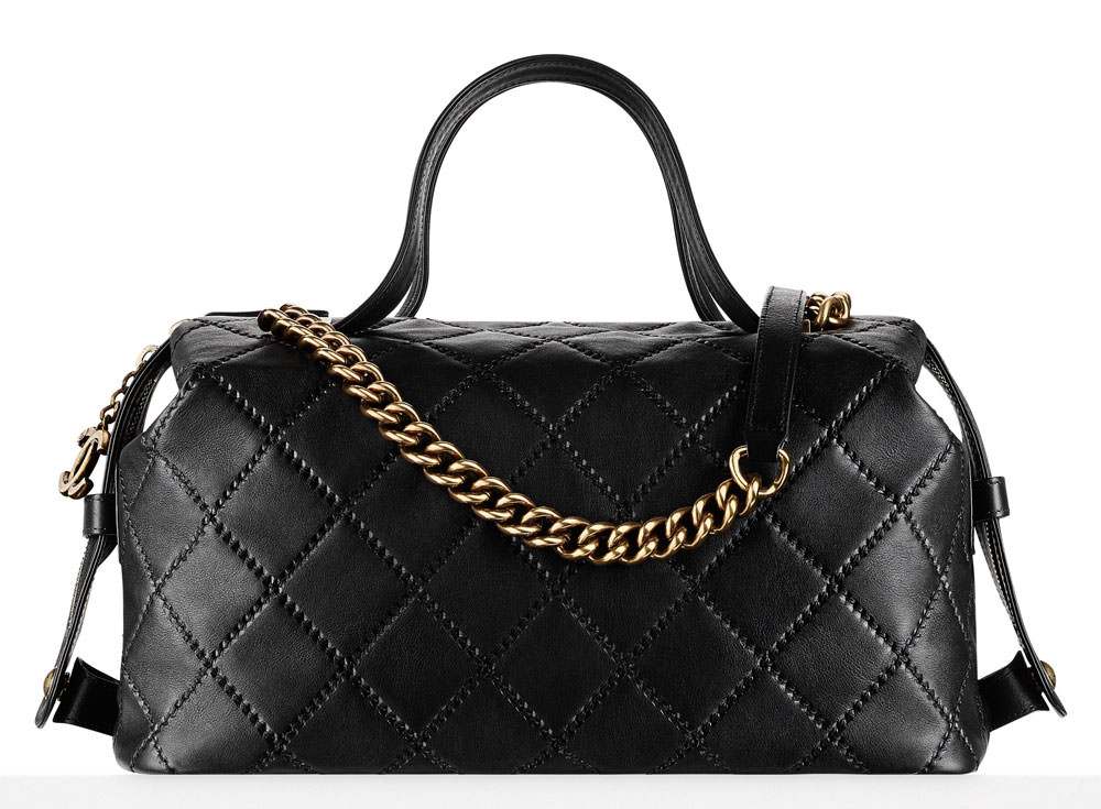 Chanel-Quilted-Bowling-Bag