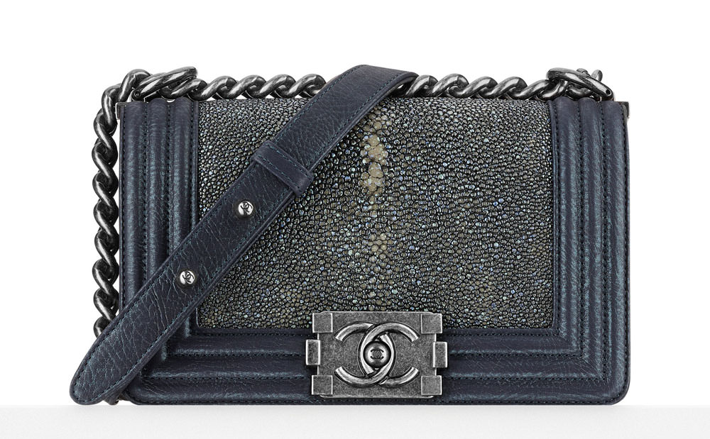 Chanel-Small-Stingray-Boy-Bag-Blue