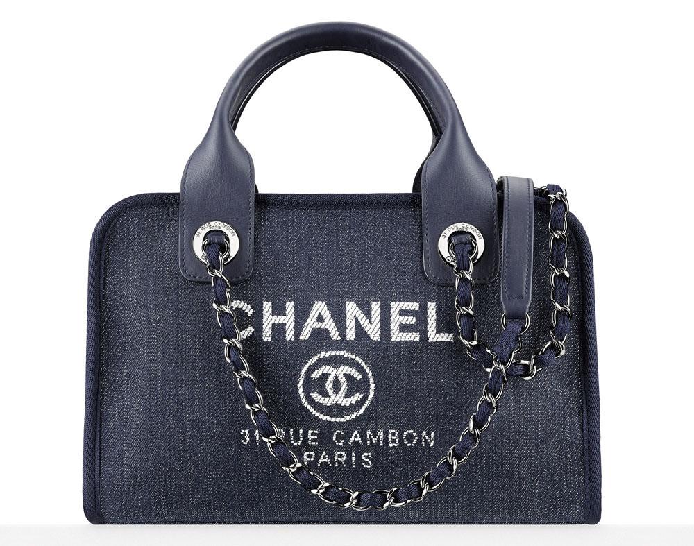 Chanel-Toile-Logo-Bowler-Bag