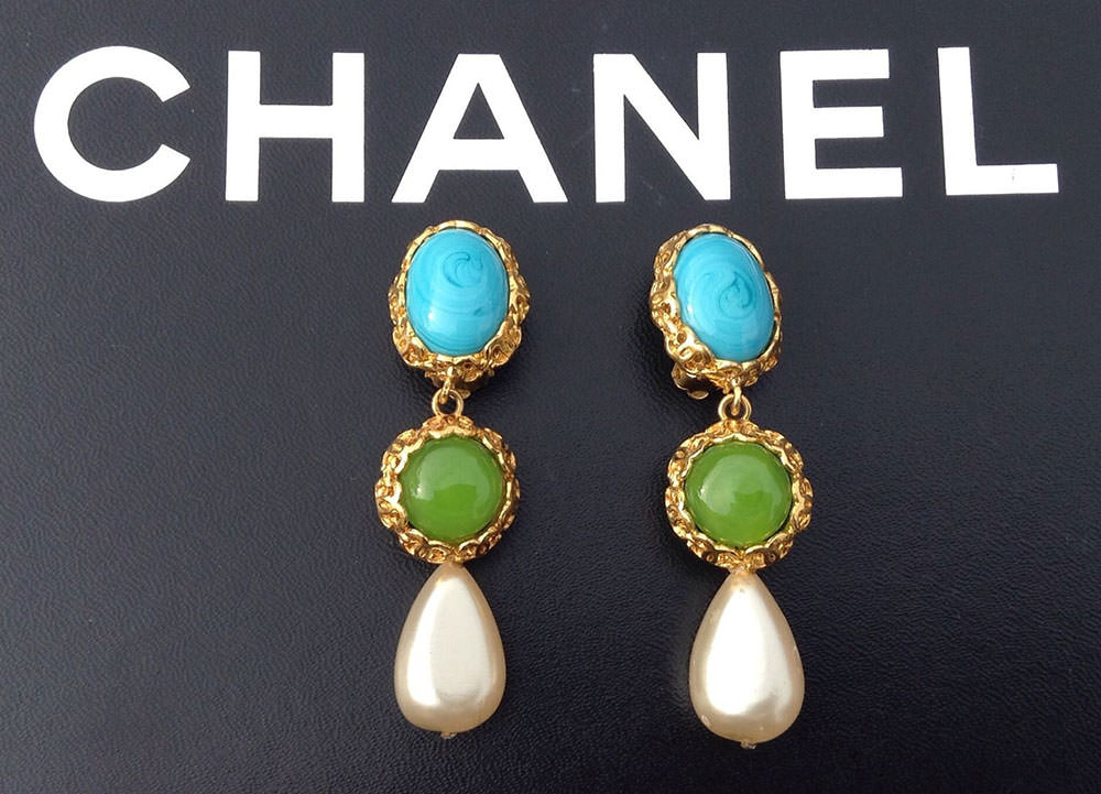 Chanel-Triple-Drop-Earrings