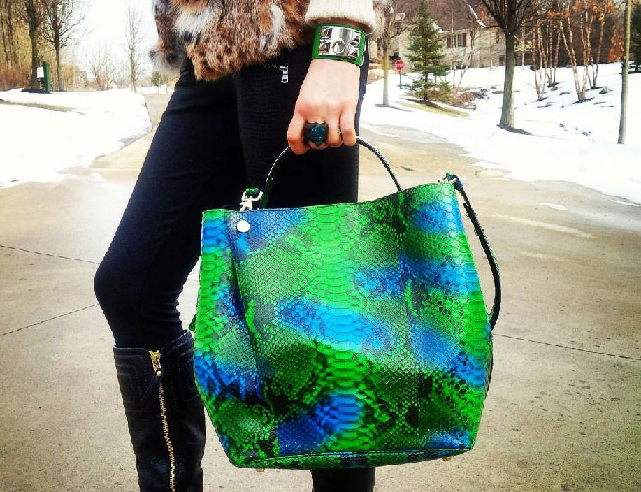 Christian-Dior-Python-Diorific-Bag