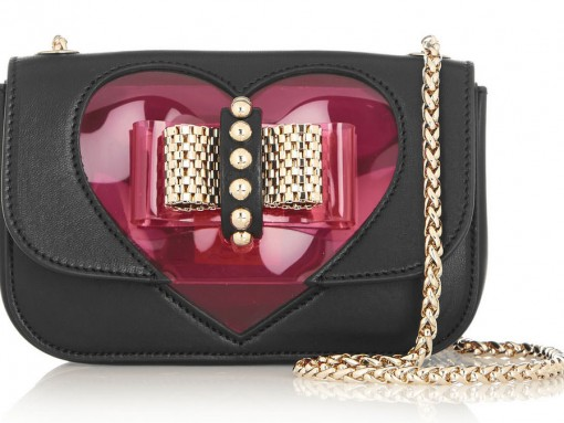 Just in Time for Valentine's Day, Heart Bags and Accessories are a Bonafide Trend