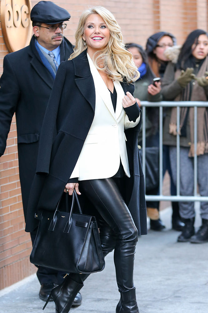 Christie-Brinkley-Saint-Laurent-Sac-de-Jour-Bag