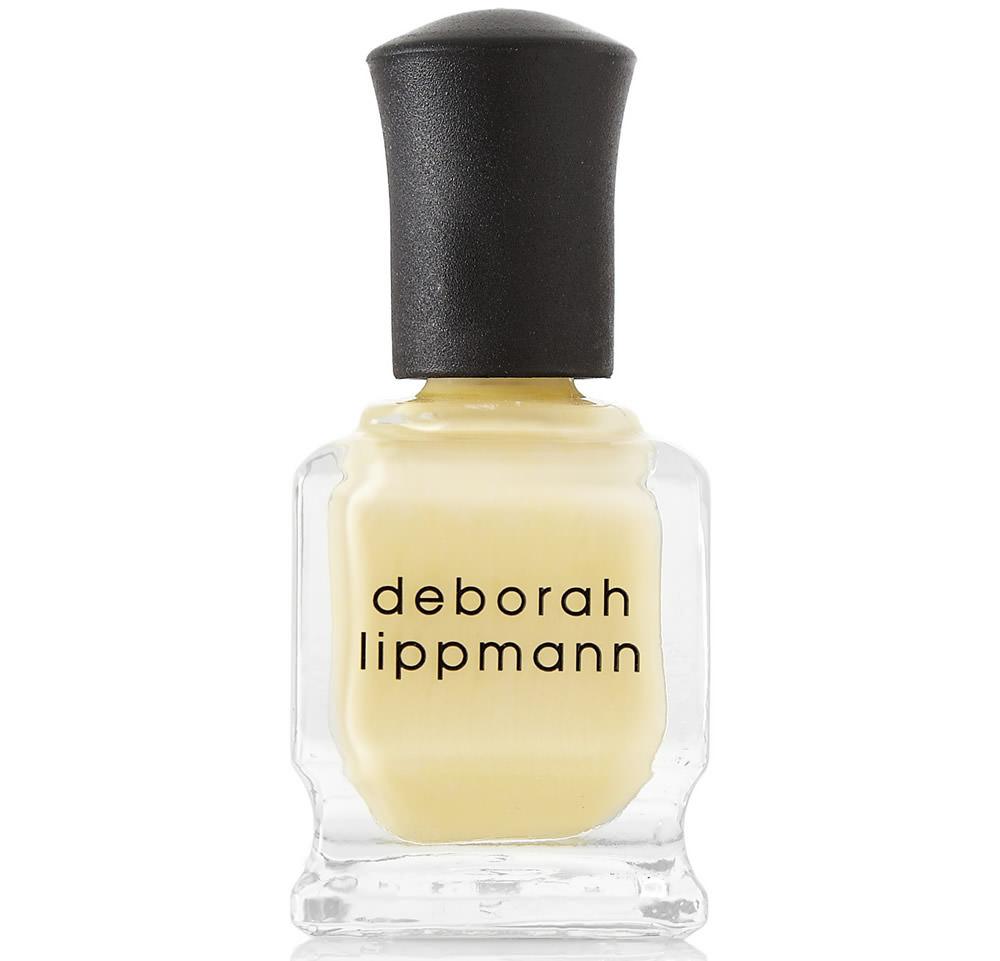 Deborah Lippman Yellow Nailpolish