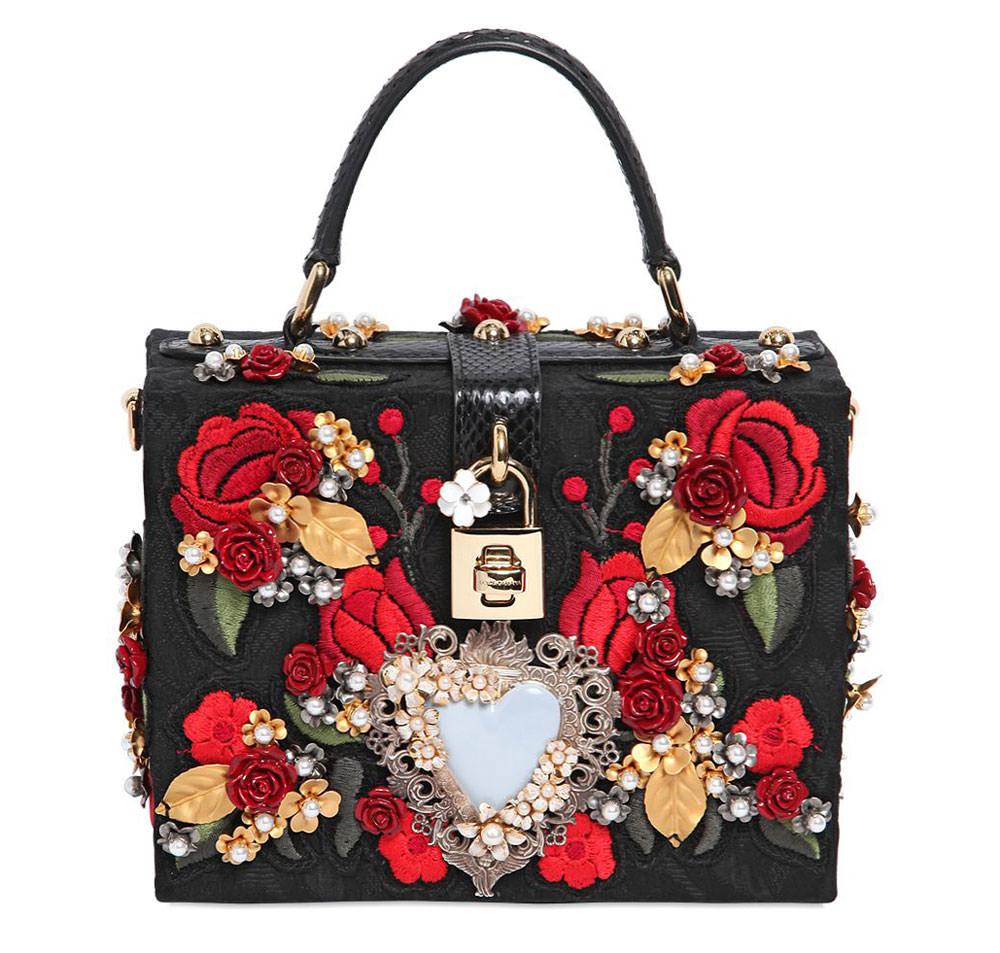 Dolce-&-Gabbana-Embellished-Brocade-Dolce-Bag