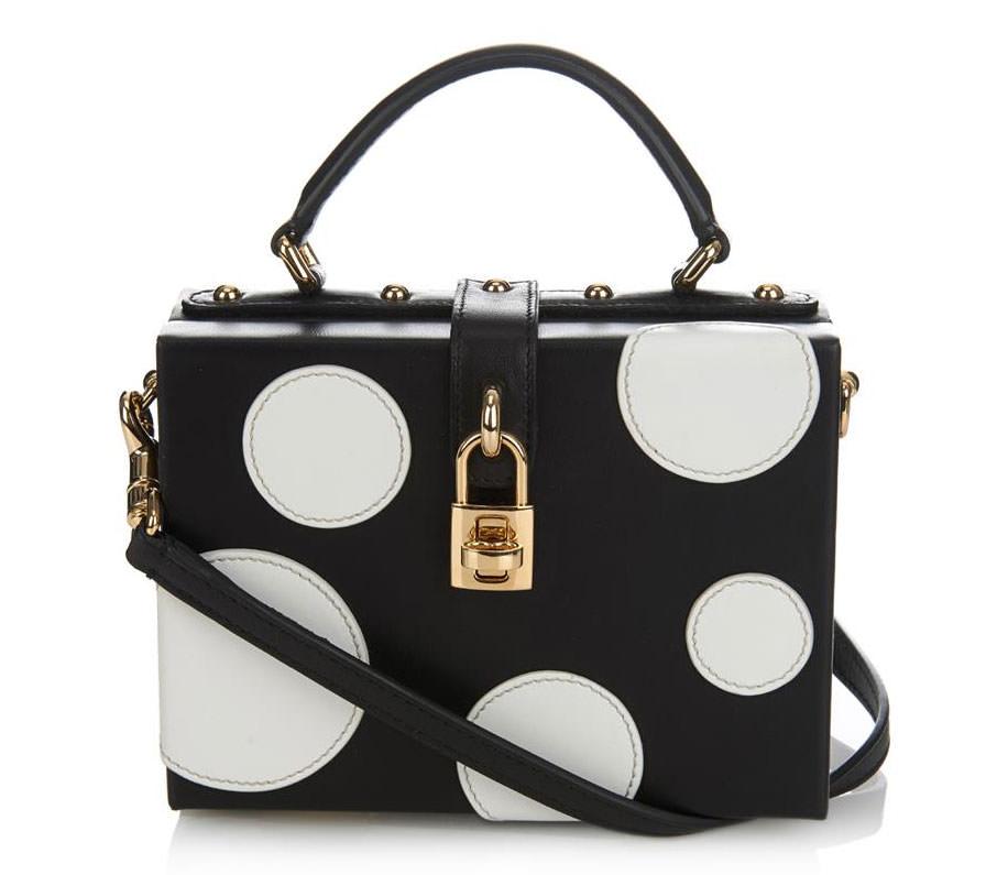 Dolce-&-Gabbana-Polka-Dot-Box-Bag