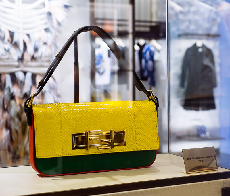Fendi 3Baguette Charity Project: Jourdan Dunn