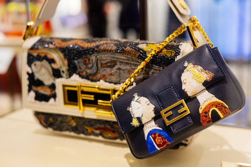 Fendi 3Baguette Charity Project: Rachel Feinstein