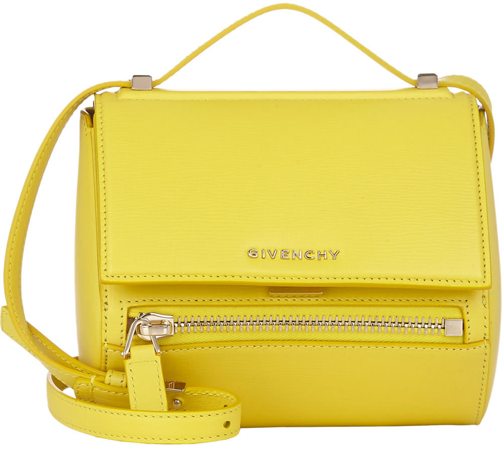 Givenchy Mini Box Pandora Bag Yellow