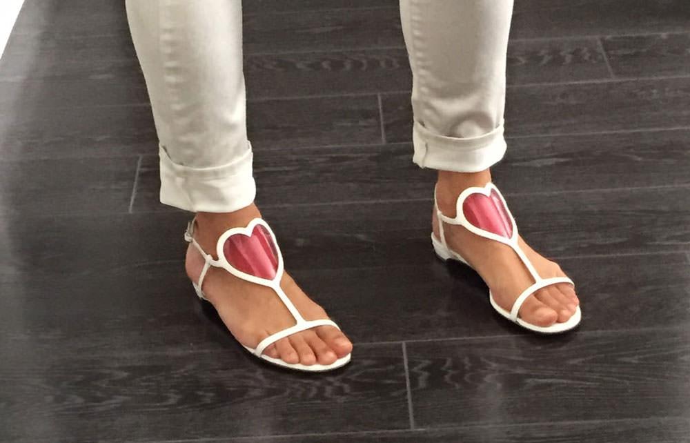 Heart-Sandals