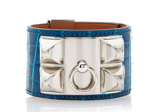 Hermes-Alligator-Collier-de-Chien-Bracelet