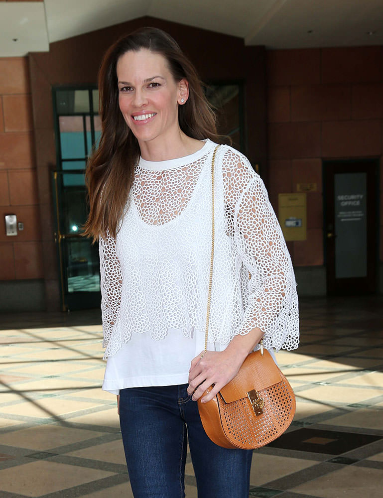 Hilary-Swank-Chloe-Drew-Perforated-Bag