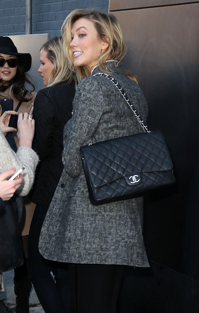 Karlie-Kloss-Chanel-Classic-Flap-Bag