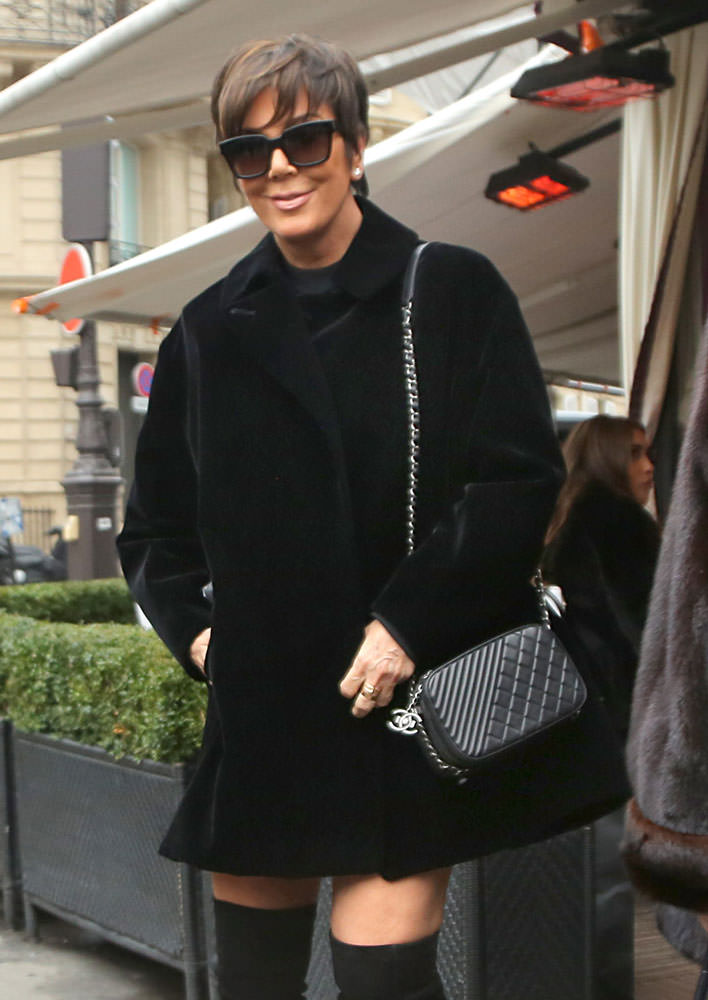 Kris-Jenner-Chanel-Shoulder-Bag