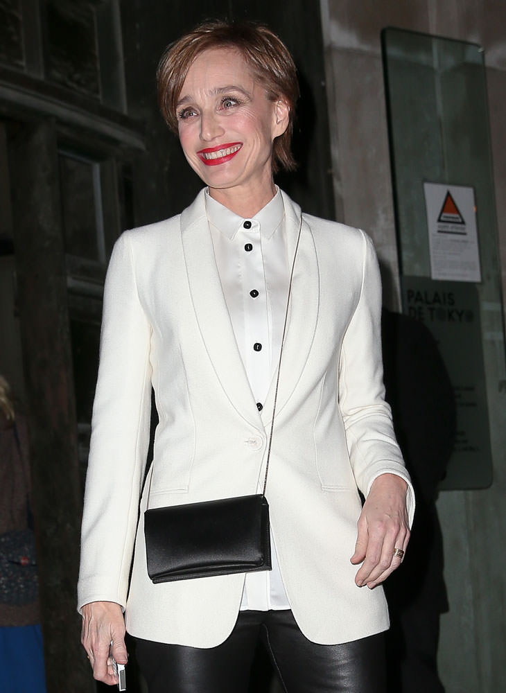 Kristin-Scott-Thomas-Giorgio-Armani-Silk-Clutch