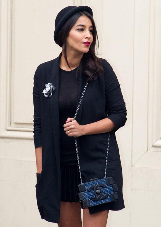 Leila-Bekhti-Chanel-Boy-Brick-Clutch