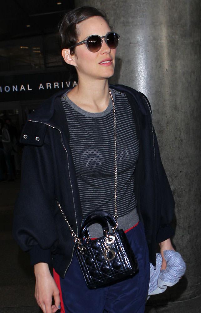 Marion-Cotillard-Christian-Dior-Lady-Dior-Mini-Bag