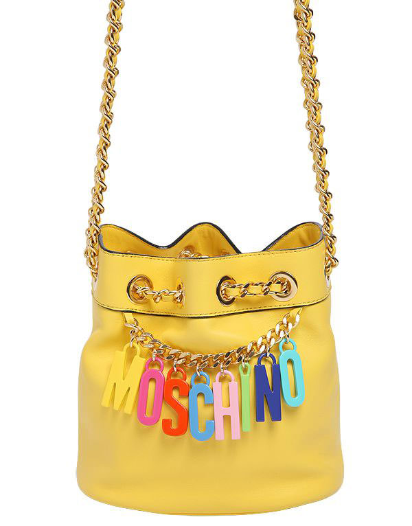 Moschino-Logo-Charm-Mini-Bucket-Bag