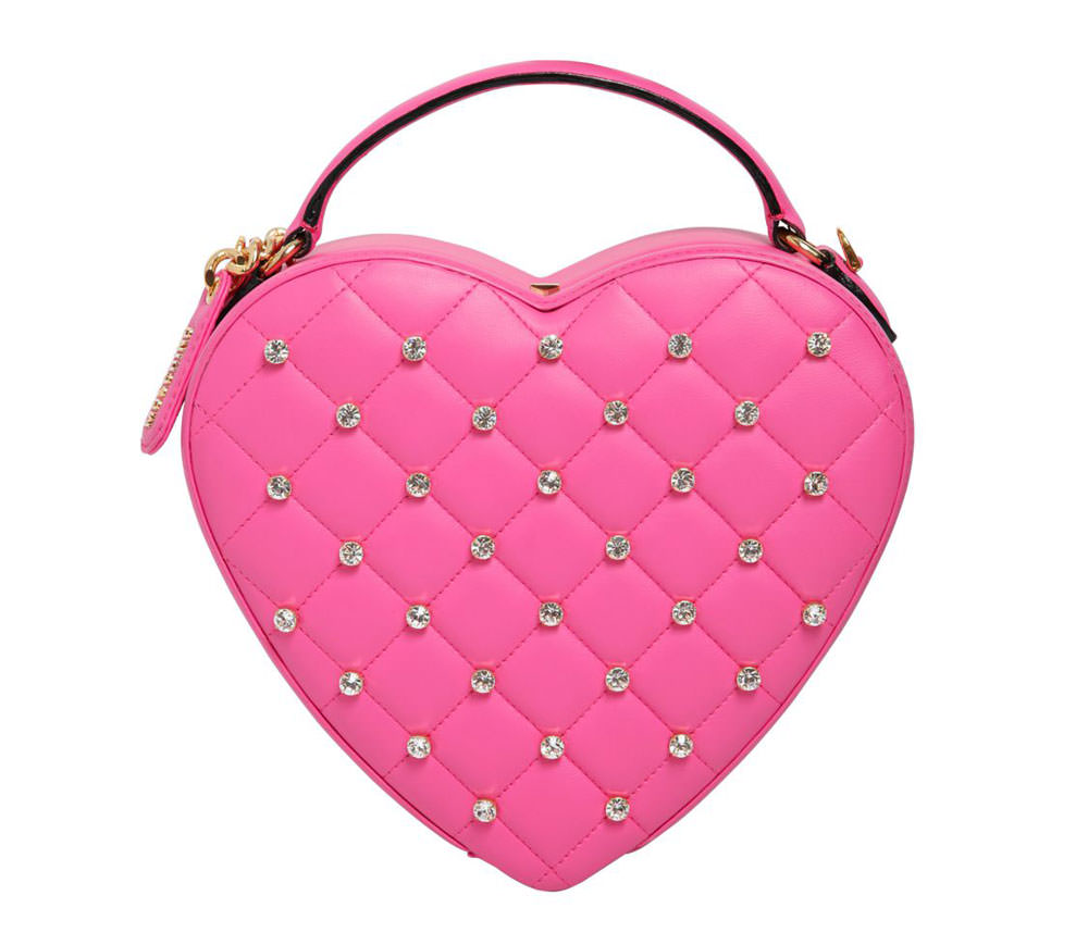 e9fc37137d80 Moschino-Swarovski-Quilted-Heart-Clutch