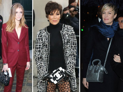 The Many Bags of Paris Couture Week Spring 2015's Celebrity Attendees