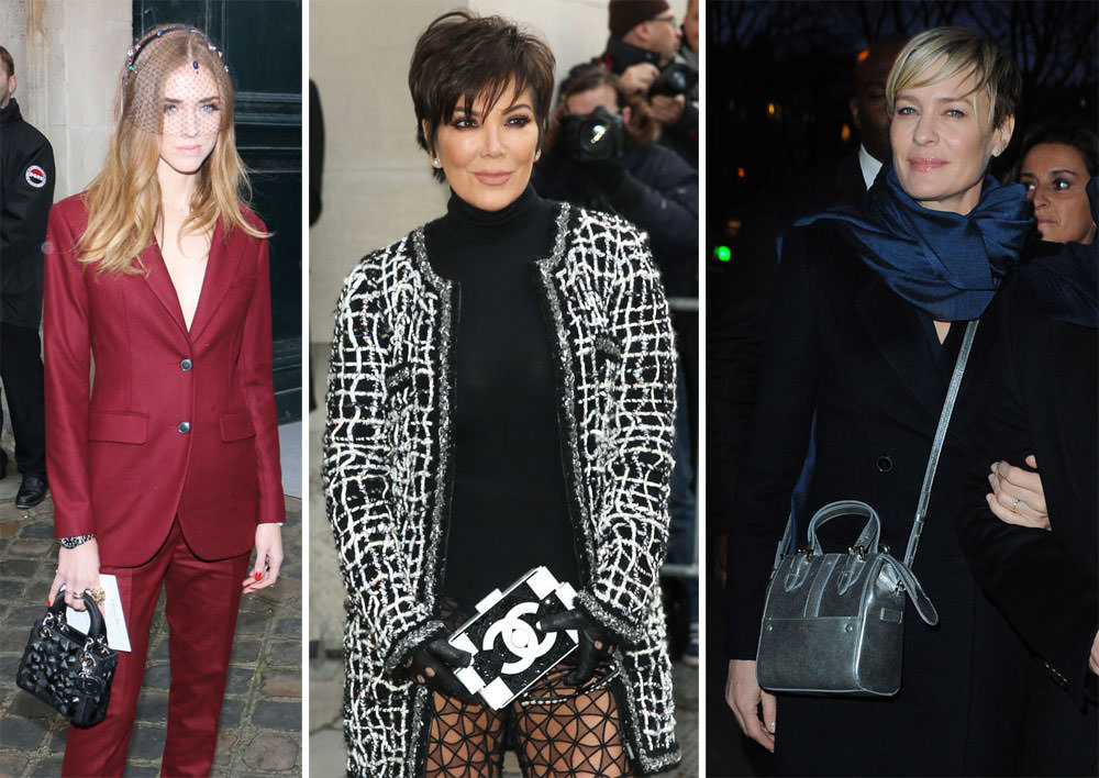 11cc80406ee5 The Many Bags of Paris Couture Week Spring 2015 s Celebrity Attendees