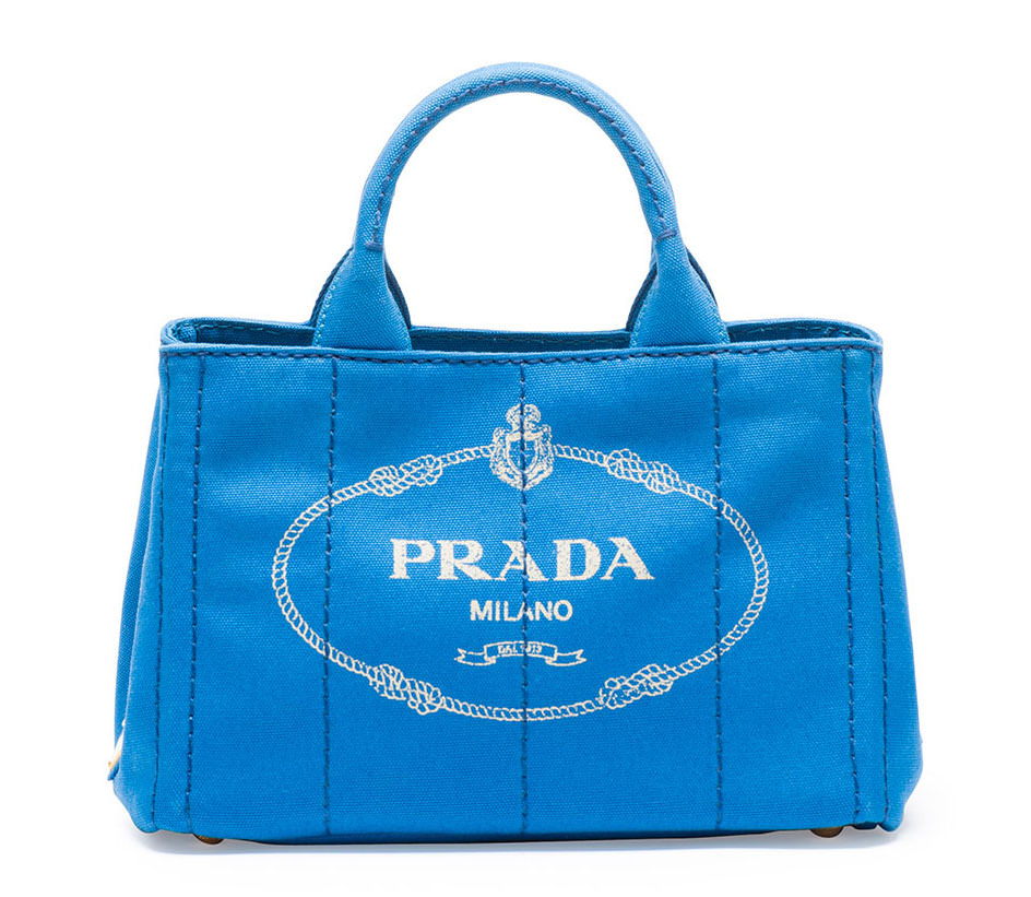 Prada-Canvas-Mini-Logo-Tote