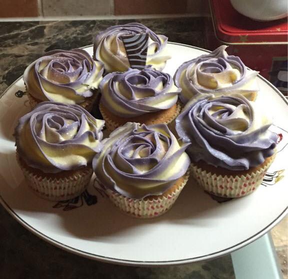 Rose-Cupcakes