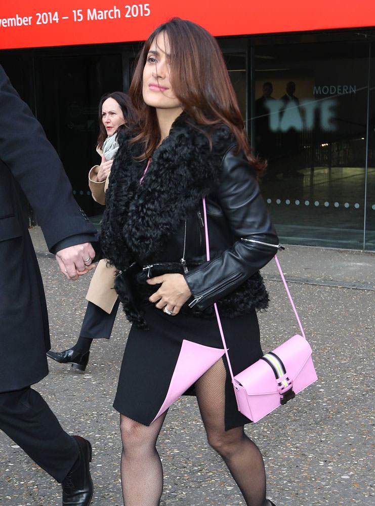 Salma-Hayek-Christopher-Kane-Safety-Buckle-Bag