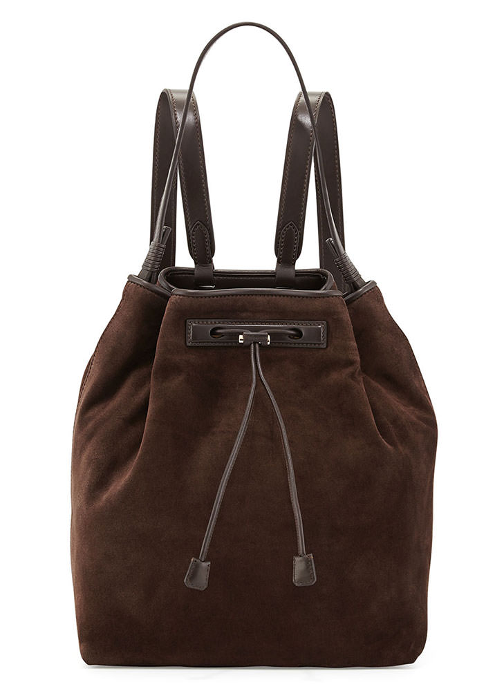 The-Row-Suede-Backpack