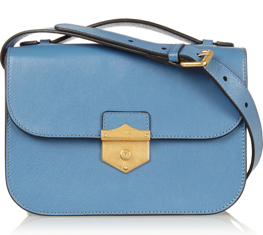 Alexander-McQueen-Leather-Flap-Shoulder-Bag