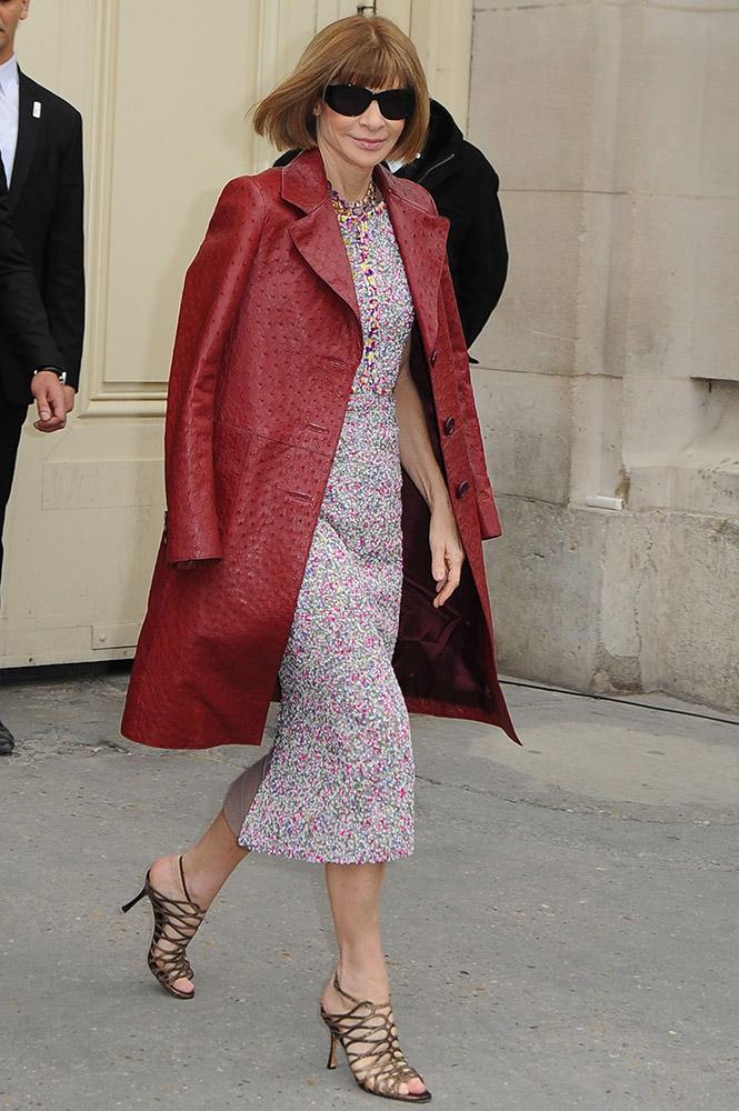 Chanel Celebrity Outside Arrivals - Paris Fashion Week