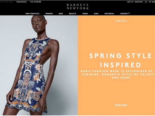 The Barneys New York Website Just Got a Big New Makeover