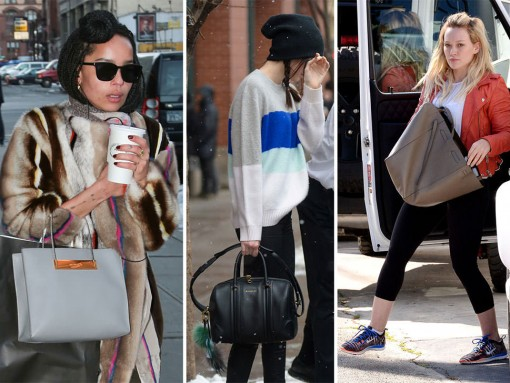 Celebrities Barely Have Time For Your Shenanigans Right Now, Please Stop Gawking at Their Gorgeous Bags