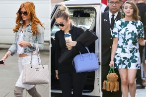 It's Spring, so Celeb Bag Selections Are Shrinking (& Becoming More Amphibious?)