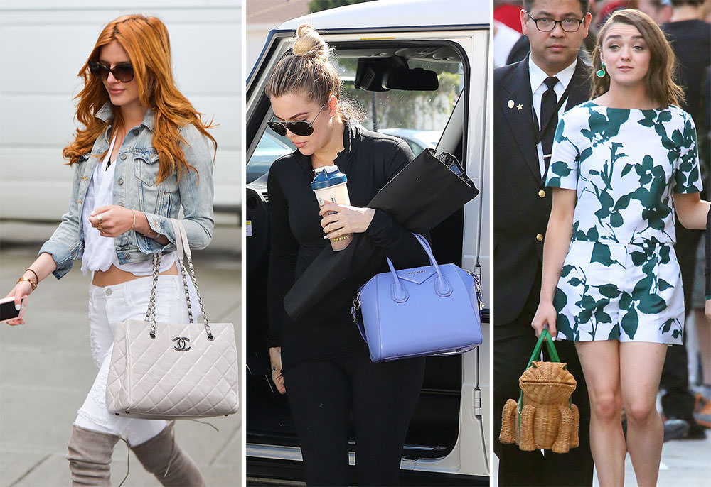 It S Spring So Celeb Bag Selections Are Shrinking Becoming More Amphibious Purseblog