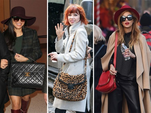 Celebrities Are Moving, Shaking, & Freezing This Week–Check Out Their Bags