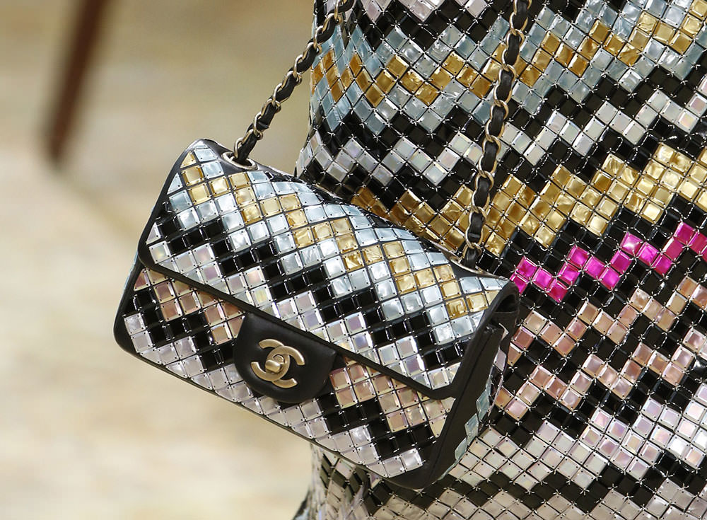 70fc42512732 Chanel Went With Straight-Up Pretty Bags for its Fall 2015 Runway ...