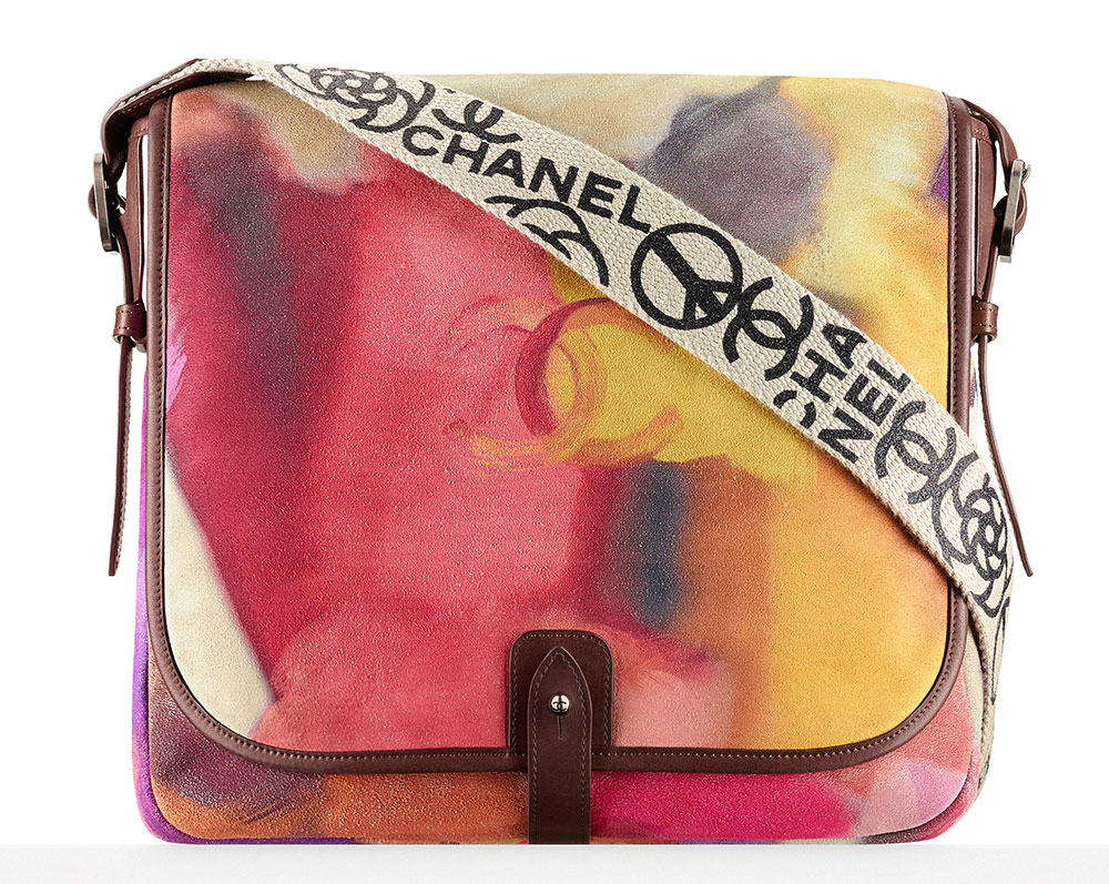 Chanel-Printed-Velvet-Calfskin-Messenger-Bag-4100
