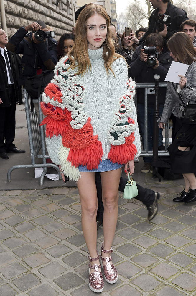INF - Hermes - Outside Arrivals - Paris Fashion Week Fall/Winter 2015/2016